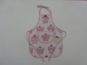 Barnförkläde cupcake