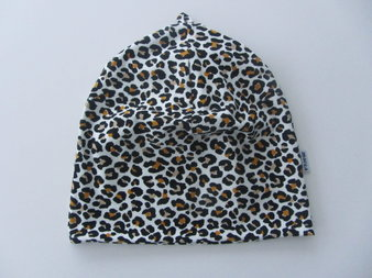 Svart/vit/gul leopard